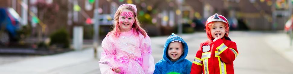 Cuidemos la seguridad de nuestros niños en Halloween
